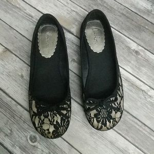 Sam & Libby Lace Ballet Flats